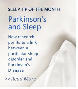 Sleep Tip of the Month