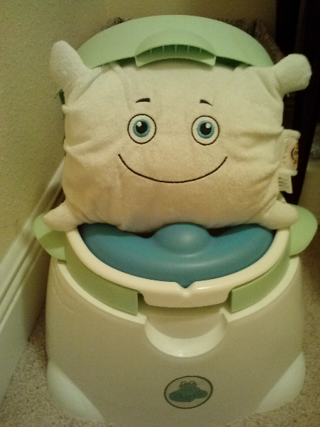Potty training complete!