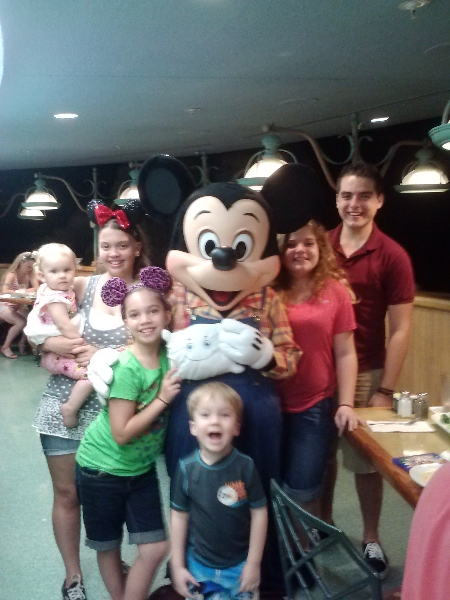 McStuffy's whole family AND MICKEY MOUSE!!!