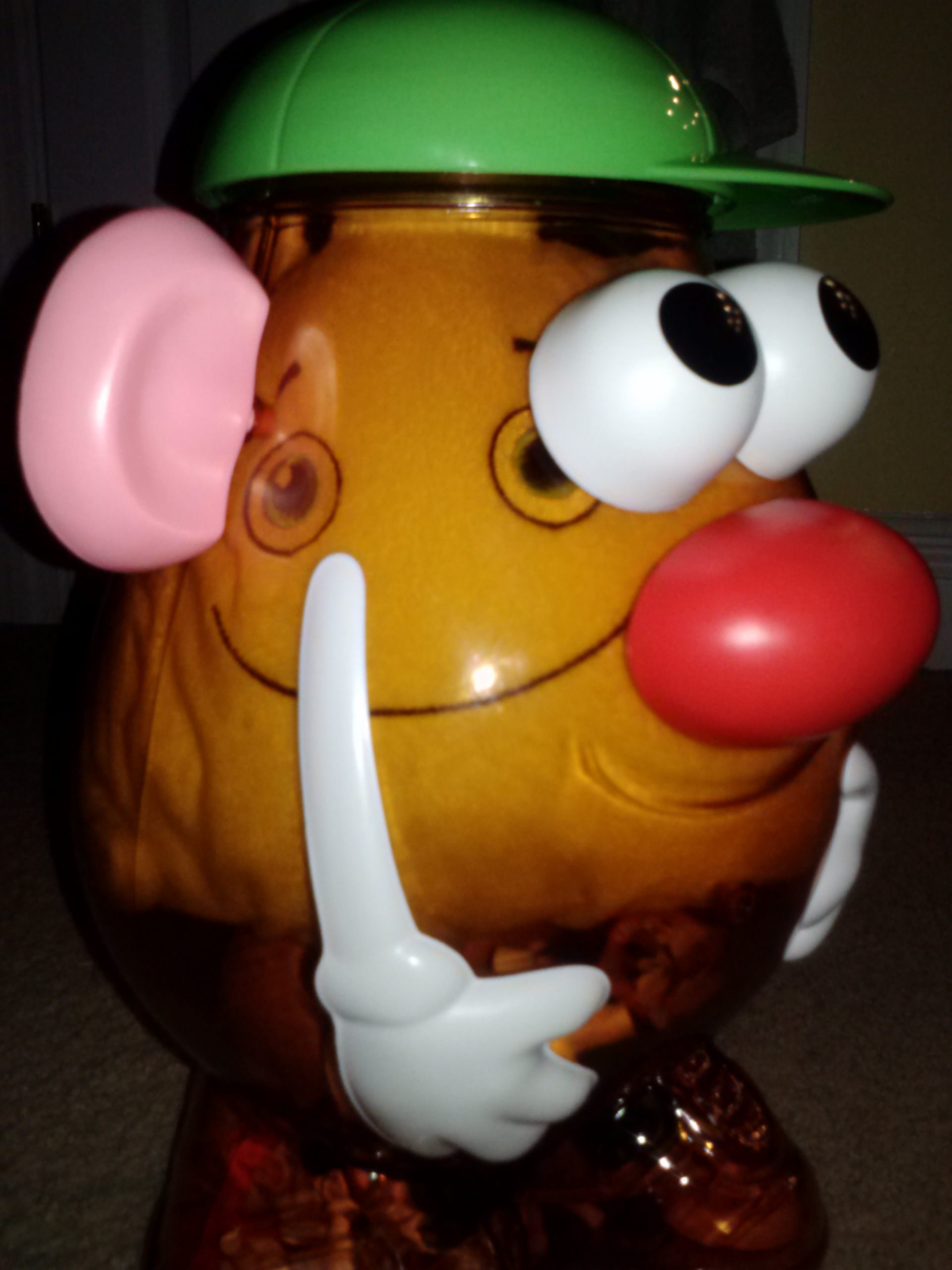 Help! I'm stuck in Mr.Potato Head and I can't get out!