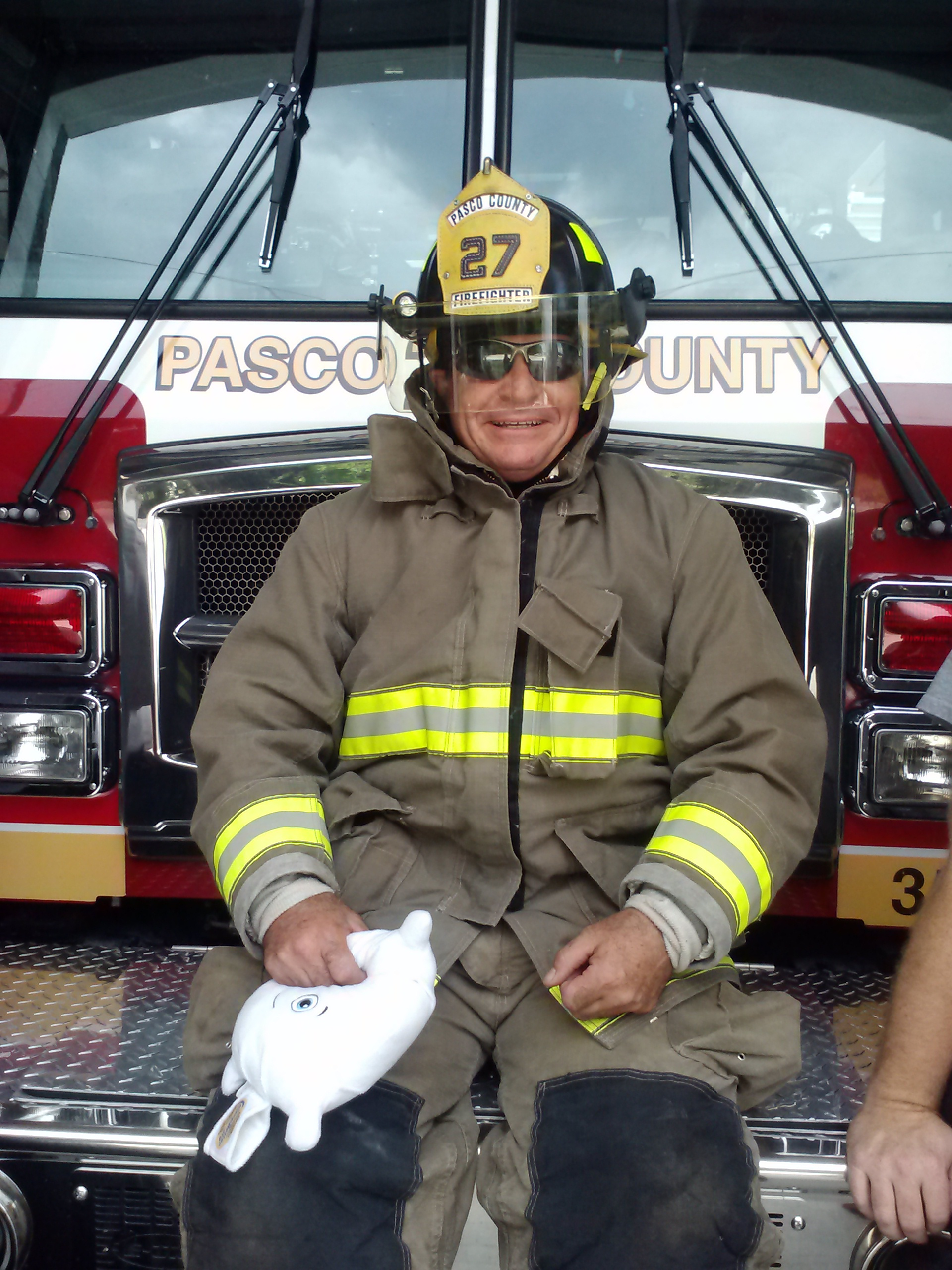 Up close and personal with a first responder