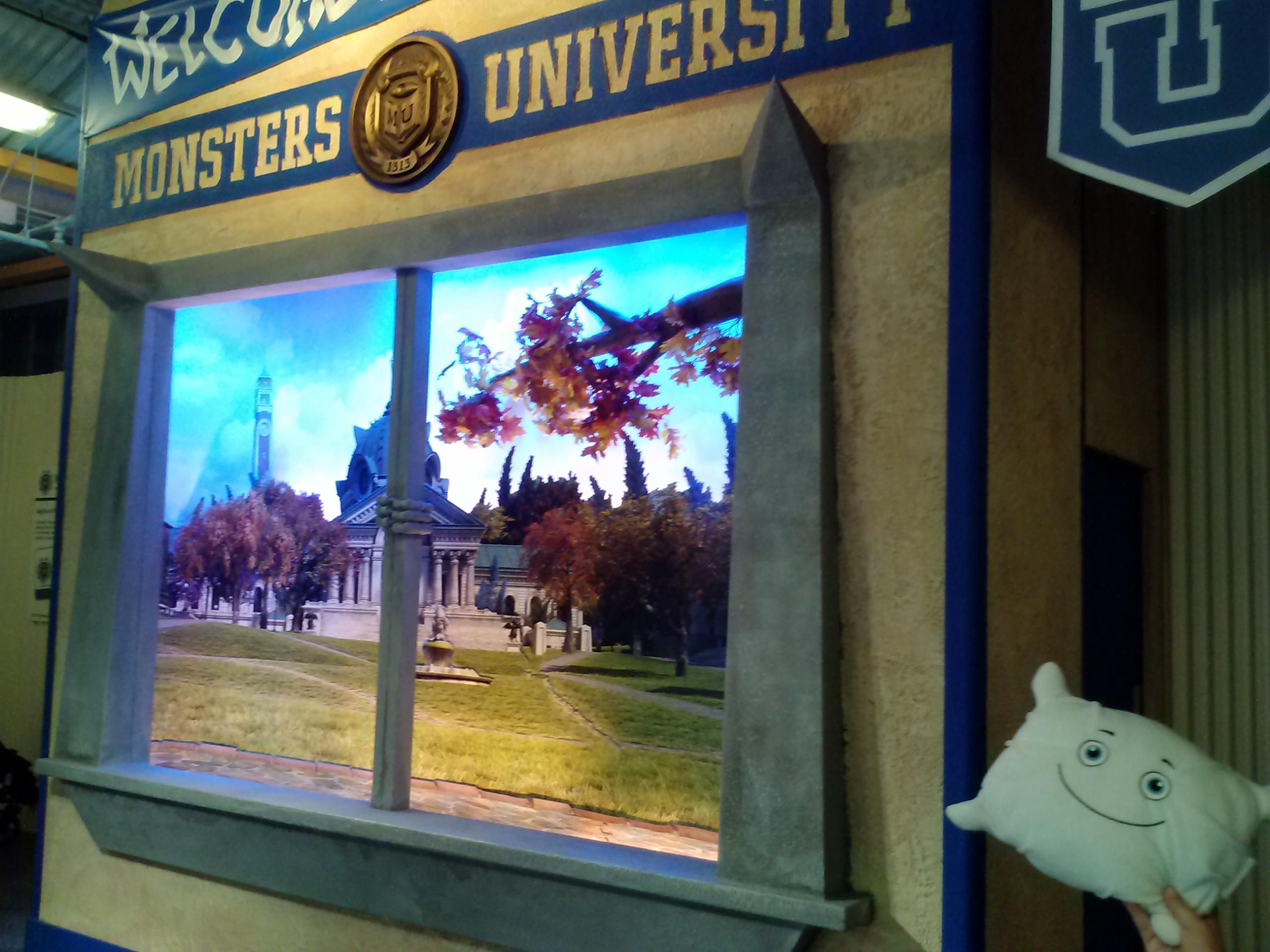 McStuffy is enrolling in Monsters University
