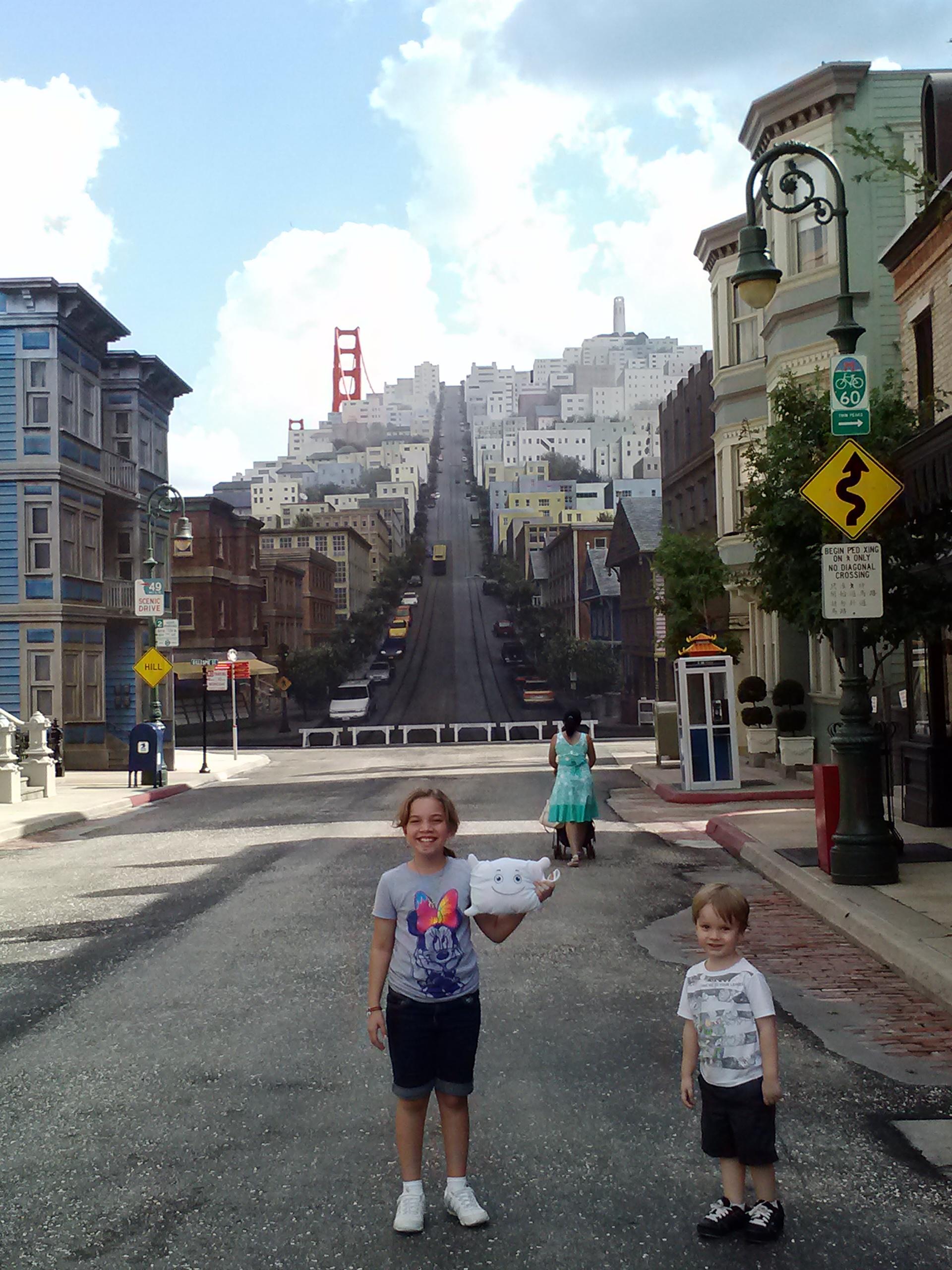 Is McStuffy in San Francisco or Hollywood Studios at Disney World?