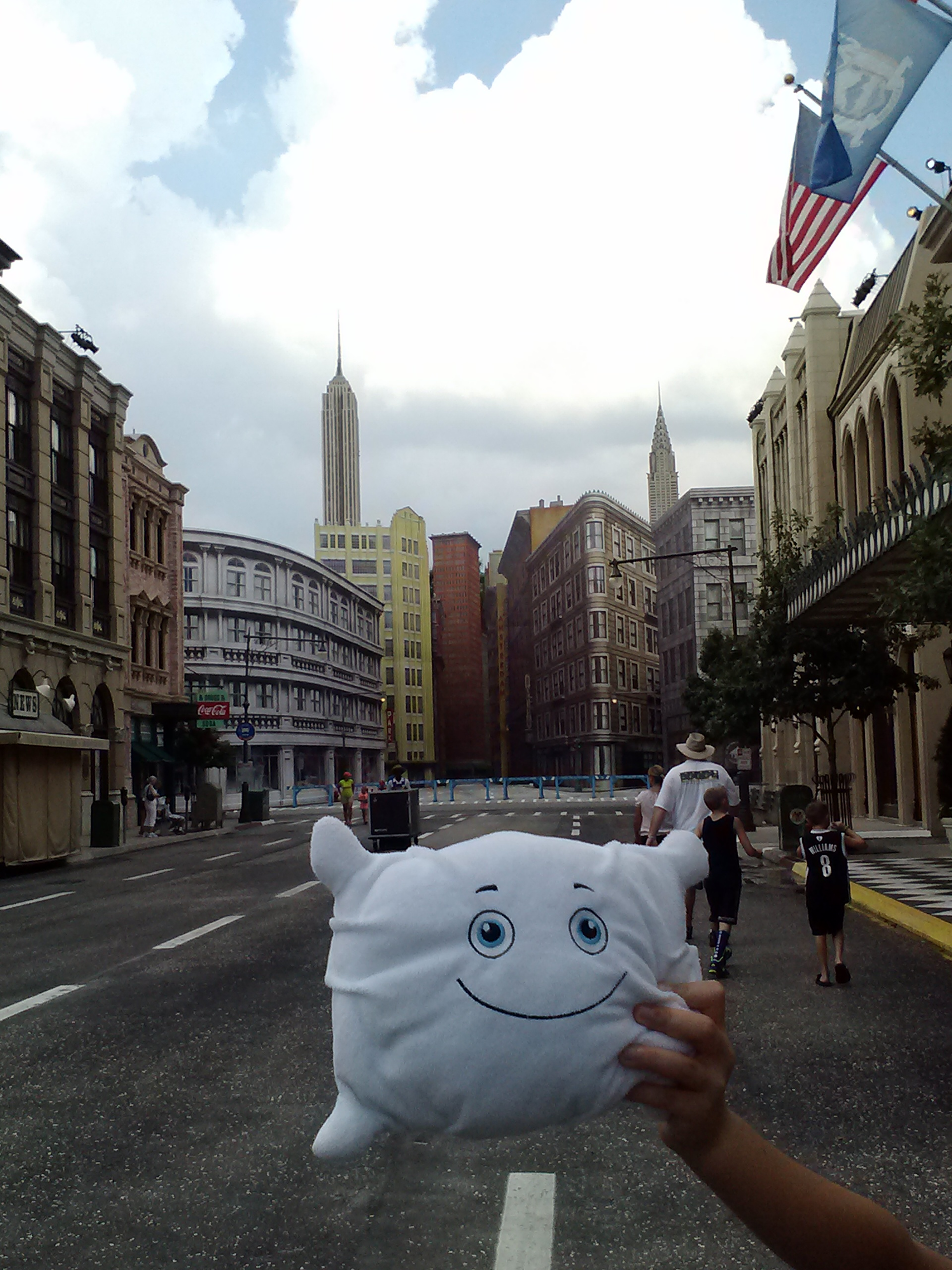 Is McStuffy in New York City or Hollywood Studios at Disney World?