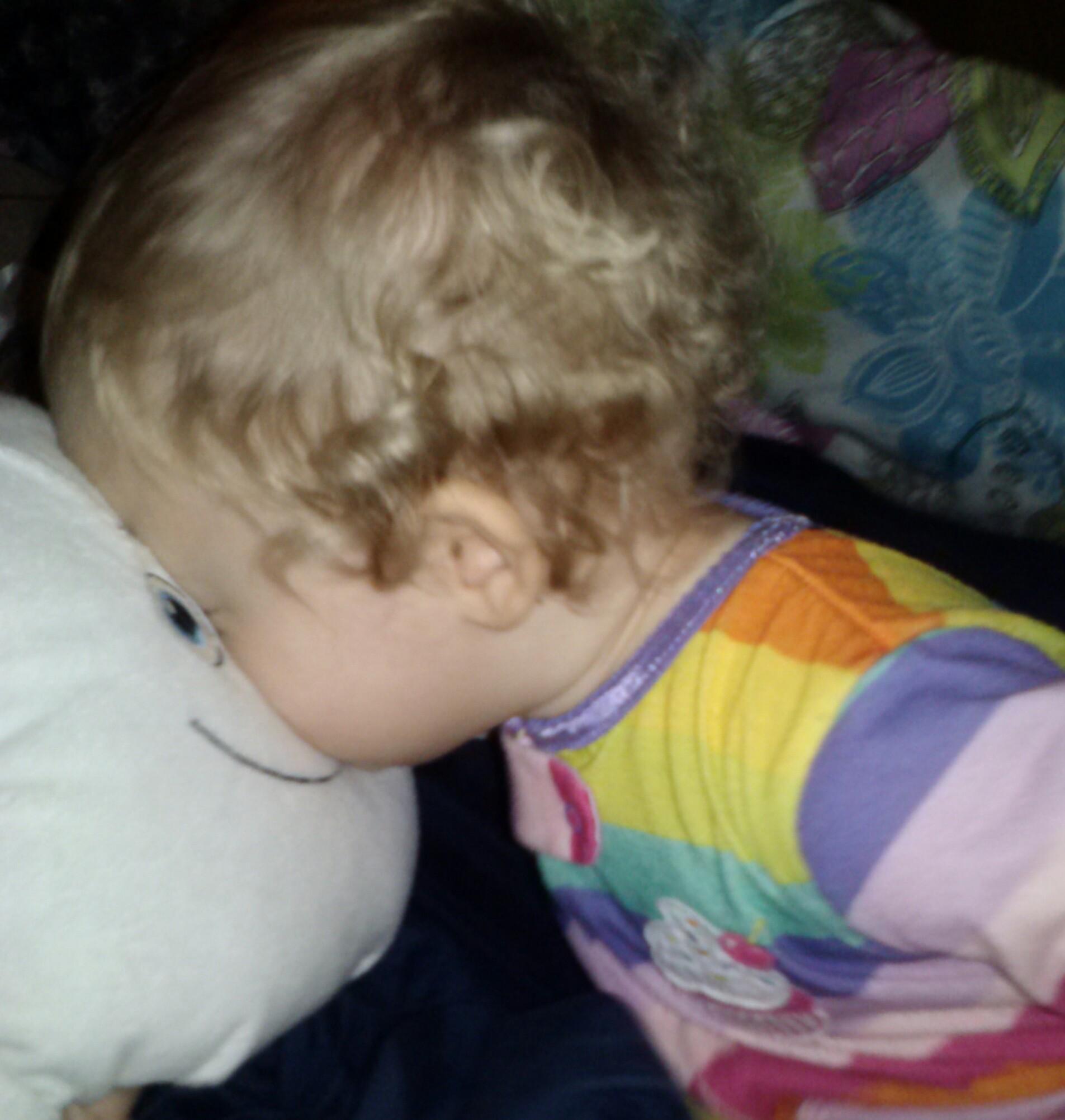 Bedtime kisses!