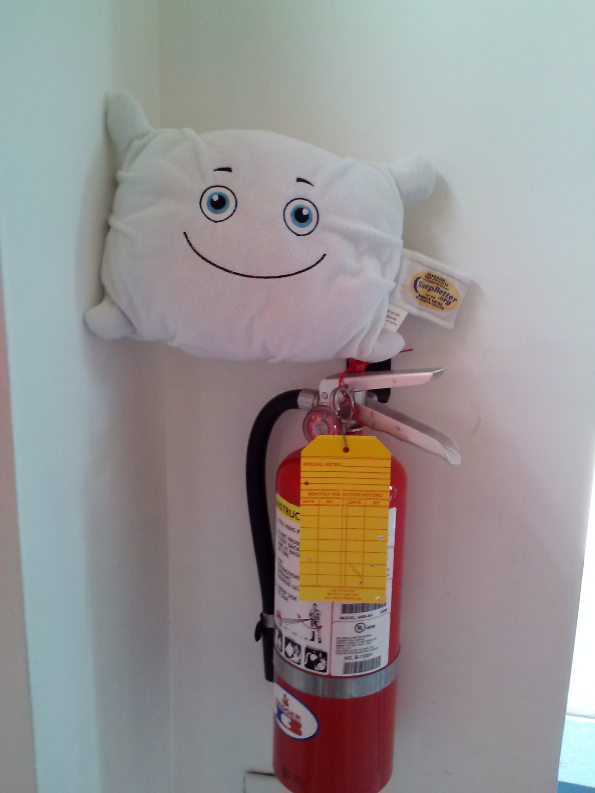 We are learning about fire safety this week. We will have a fire drill later.
