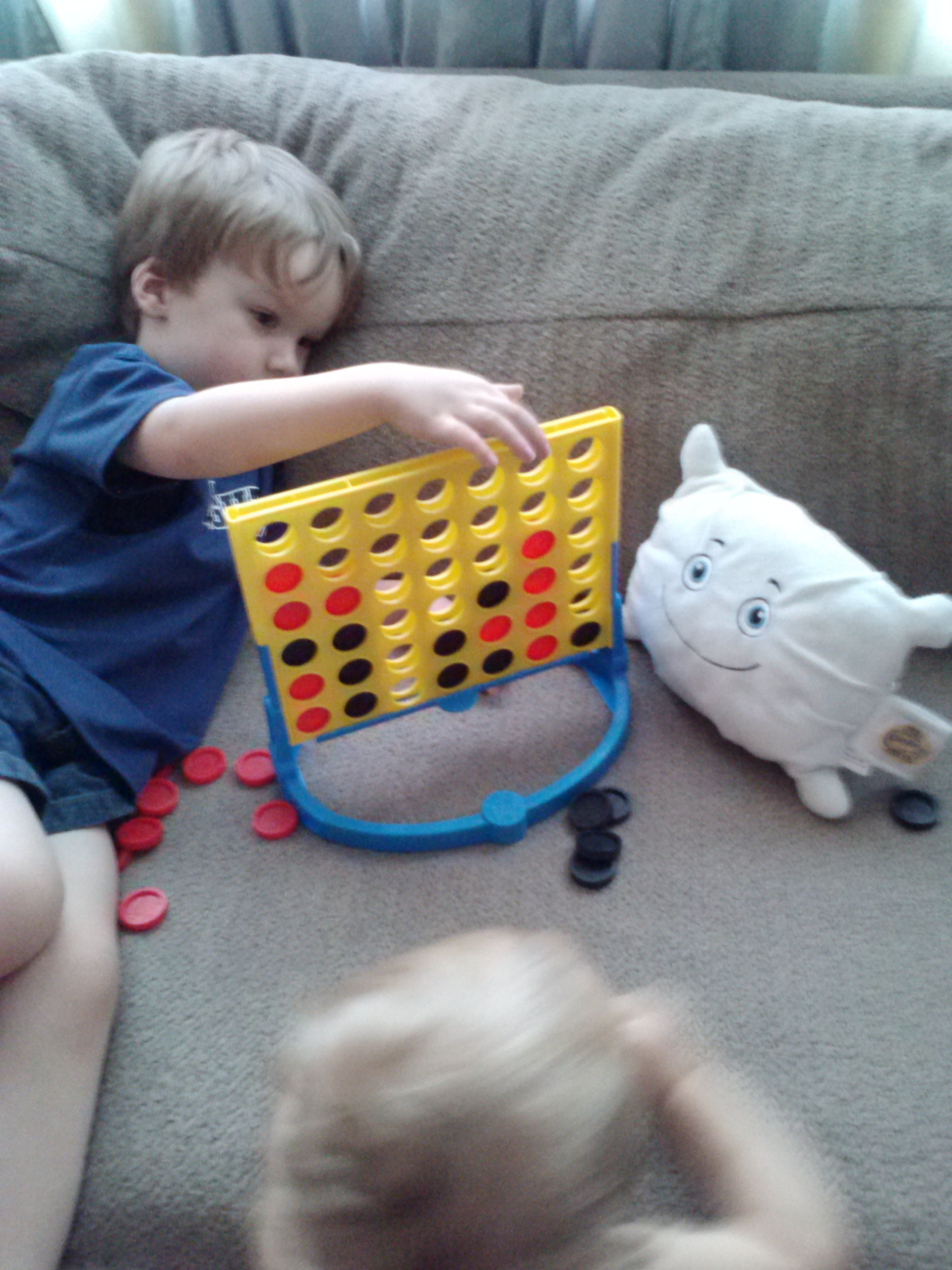 Game day: Connect Four