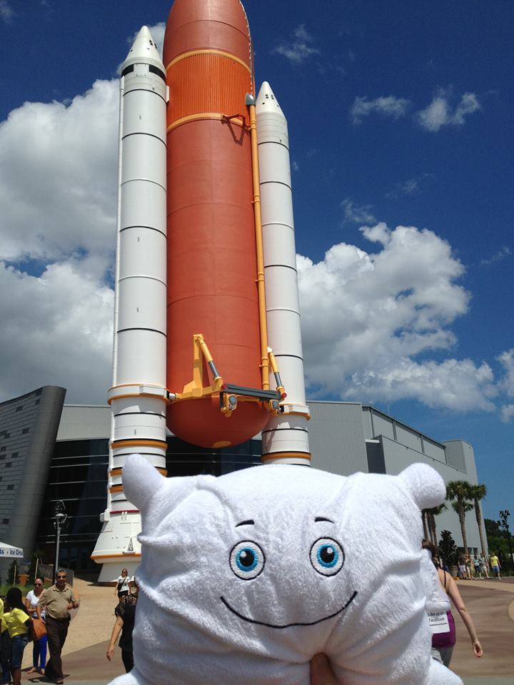 Solid rocket boosters are gigantic!
