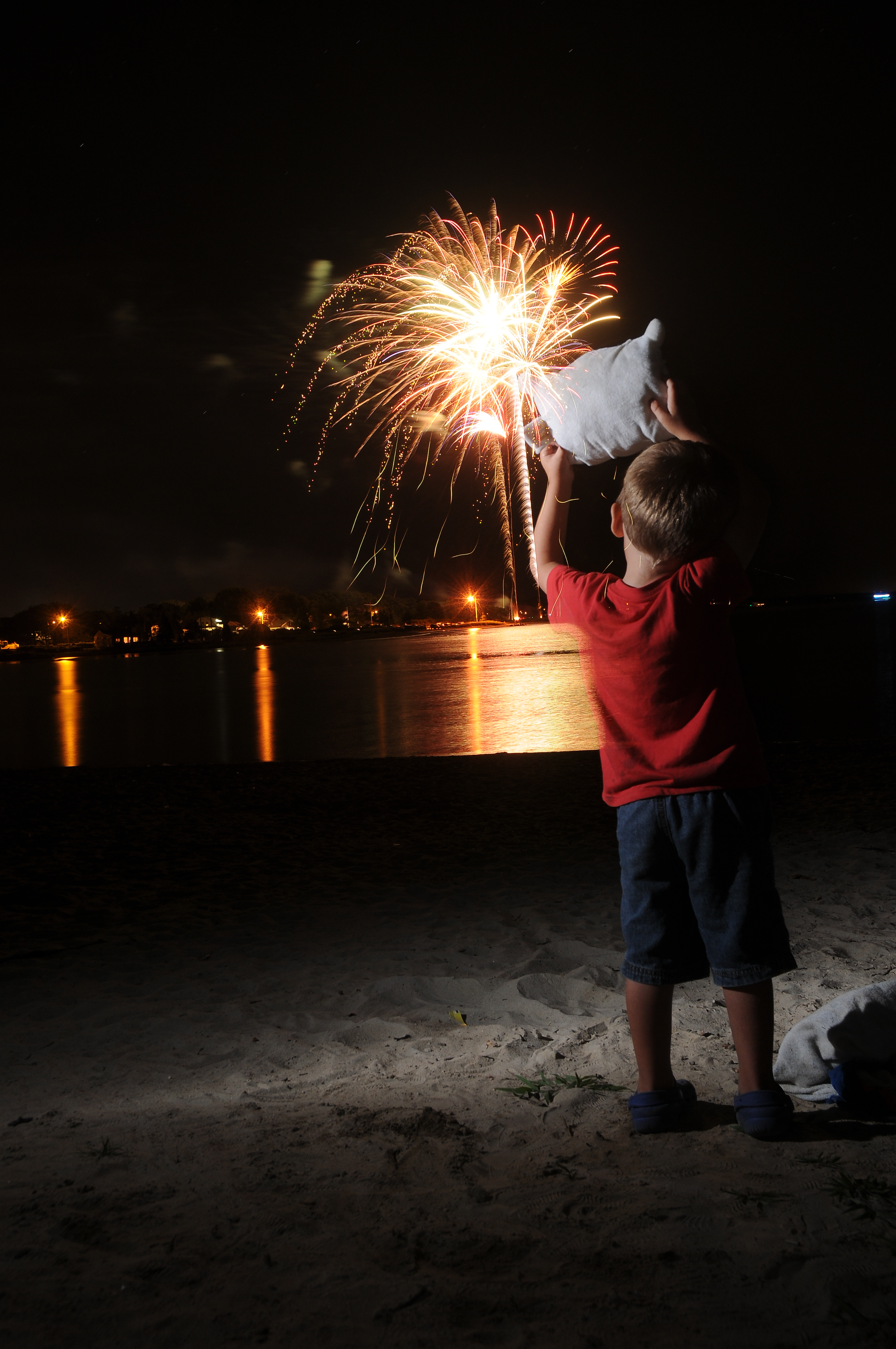 Pillow Featherbed & Nat'l Night Out fireworks (Pt. 1)