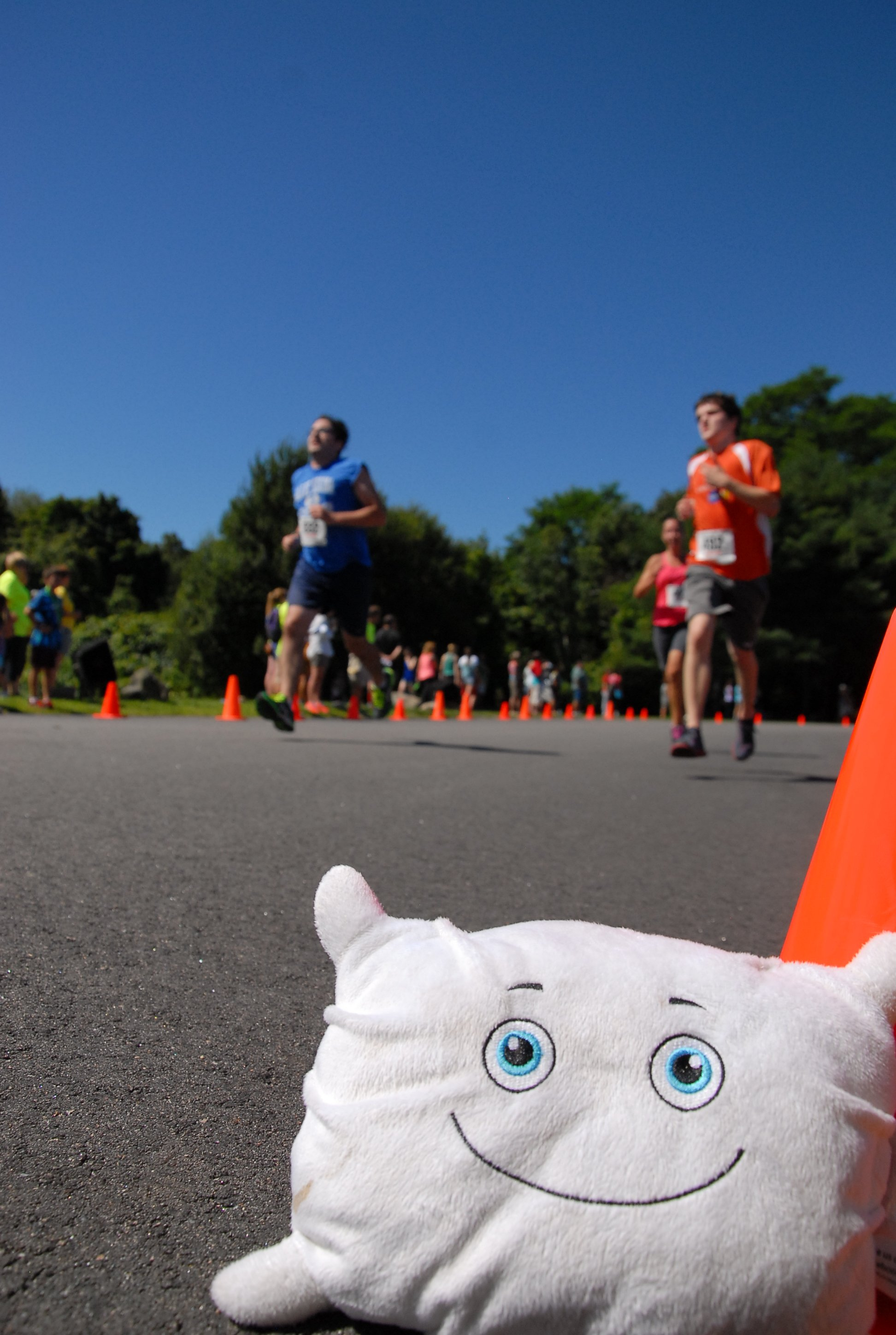 Pillow Featherbed runs the Bobby Doyle Summer Classic road race