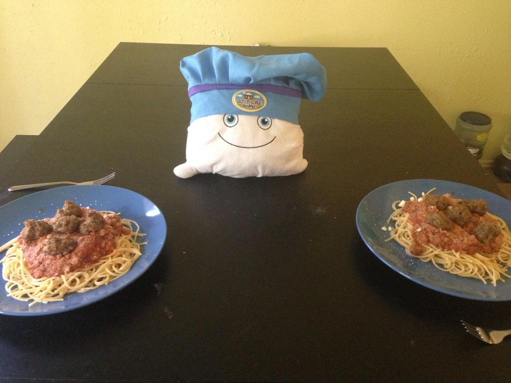 Chef Pilwoah's Spaghetti lunch