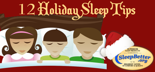 12 Holiday Sleep Tips
