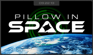 Pillow in Space